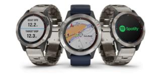 Garmin® quatix® 6 on uusi veneilijän ja vesiurheilijan GPS-älykellomallisto